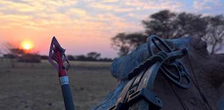 Buejagt i Namibia med Christian Rysgaard