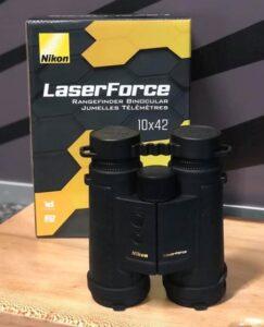 Nikon Laserforce 10x42 håndkikkert med afstandsmåler