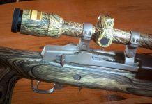 halvautomatisk riffel til jagt