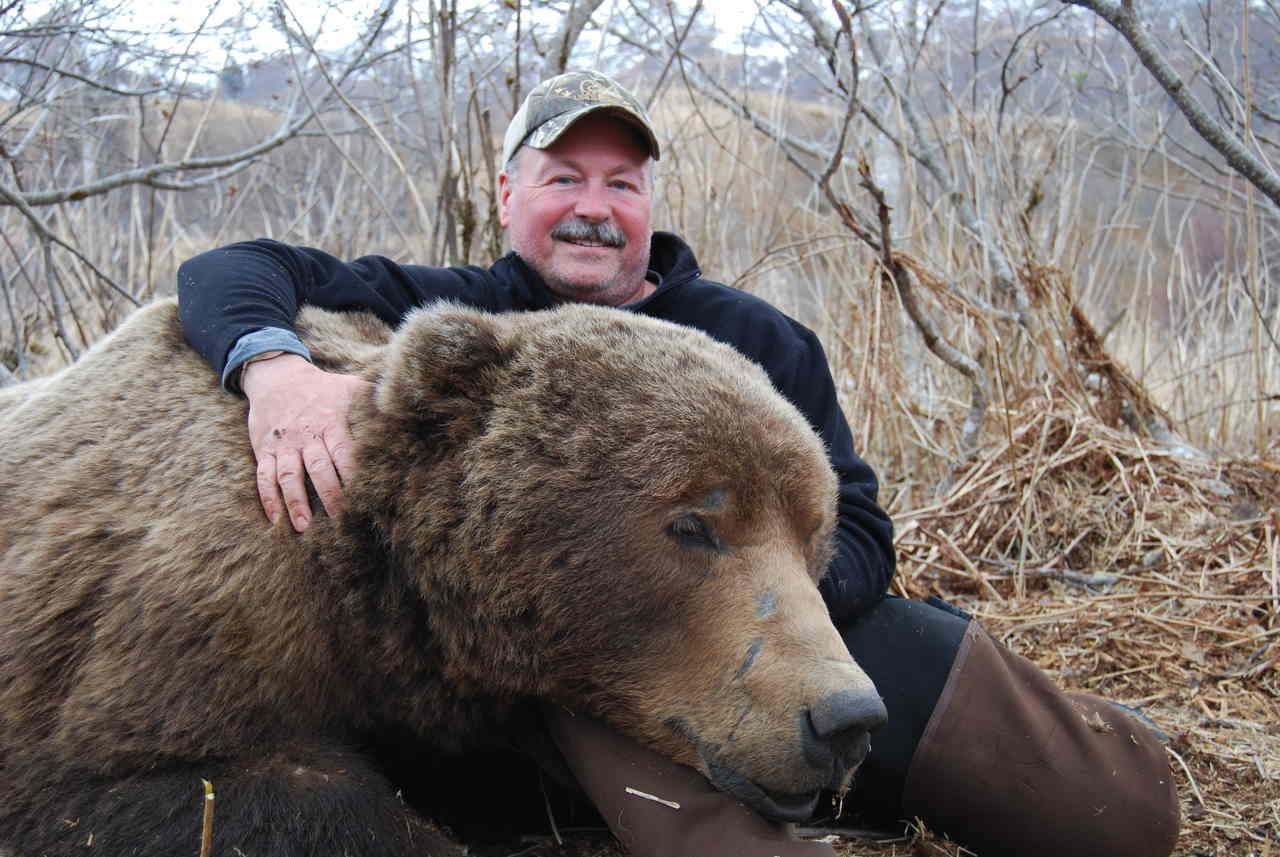 Bjørnejagt, brunbjørn