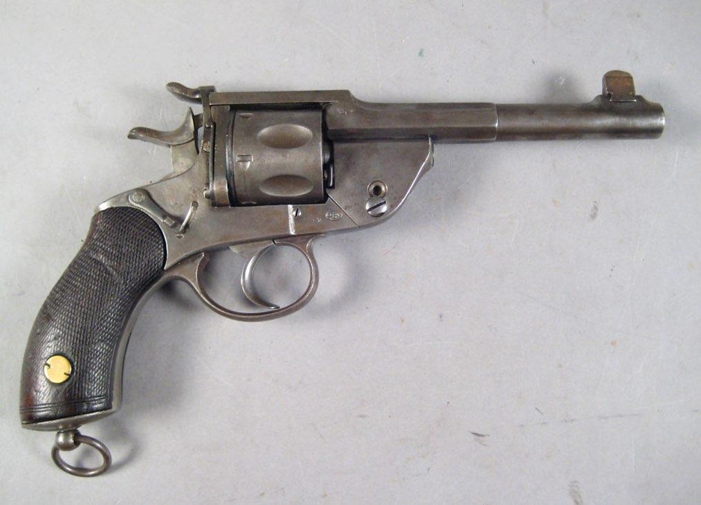 9,1mm omdrejningspistol model 1891